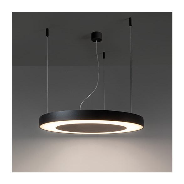 Modular Flat moon eclips 950 suspension down LED