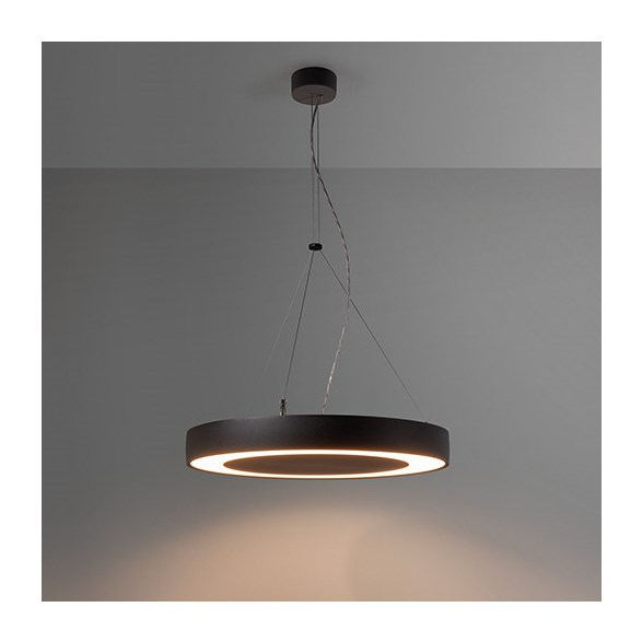 Modular Flat moon eclips 650 suspension down LED